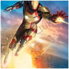 Vaikiški tapetai Iron Man
