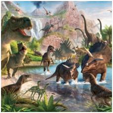 Vaikiški tapetai  Dinosaur Land (Dinozaurų šalis)  41745