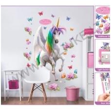 Magical Unicorn (Stebuklingas Vienaragis) didelis lipdukas