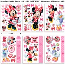 Minnie mouse vaikiški lipdukai