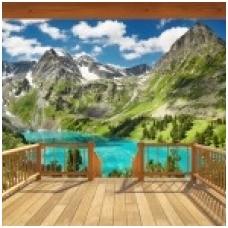 Foto tapetas Alpine Mountain