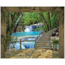 Foto tapetas Waterfall