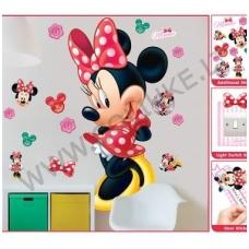 Disney Mini Mouse didelis lipdukas