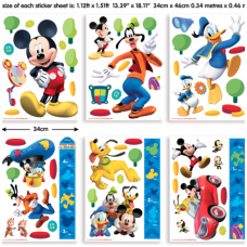 Mickey Mouse vaikiški lipdukai