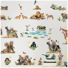 Jungle Safari   vaikiški lipdukai