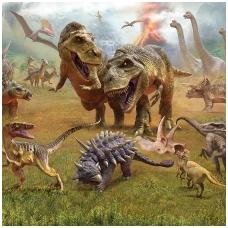 Vaikiški tapetai  Dinozaurų šalis